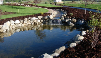 Contracted to build water features in Utah